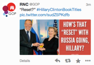 GOP Tweet on March 19, 2014