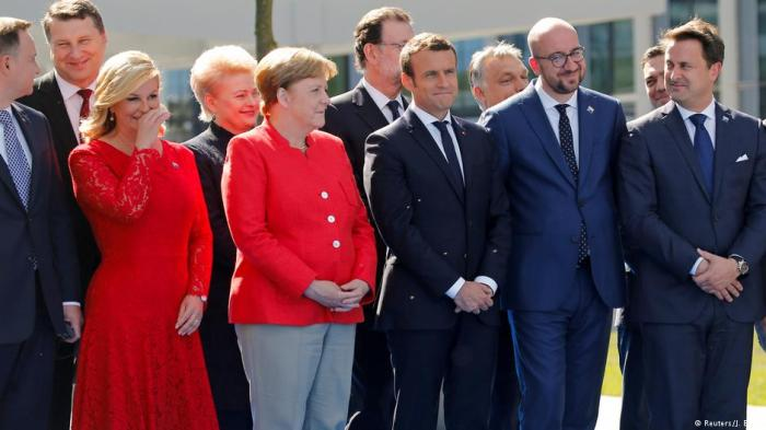 NATO Leaders Smirk