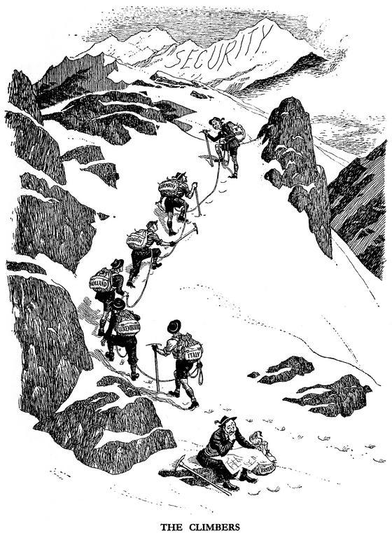 The Climbers 1950