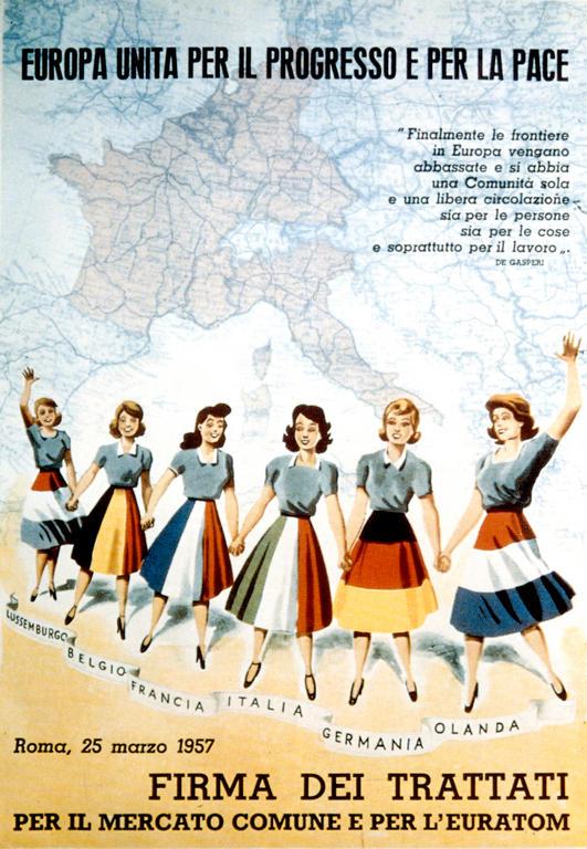 Rome Treaties Poster